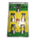 Masterkey Padlock 50mm 5 pcs 22-580 SELLERY