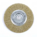 UNION WHEEL BRUSH WWP40 BRASS 113324